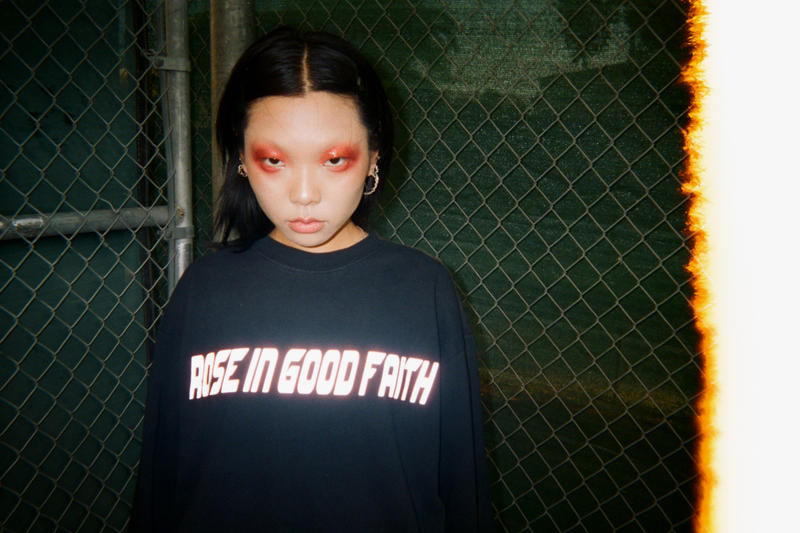 ROSE IN GOOD FAITH Ultra-Violence Lookbook Princess Gollum Underground Culture Metal Emo Concert Set