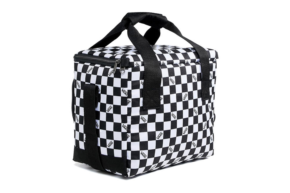Vans Checkerboard Cooler Bag Picnic Monochrome Black White Checker Off the Wall Summer Where to Buy asos