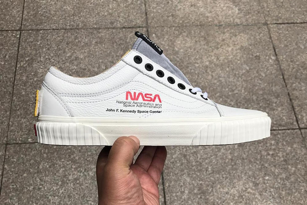 d5dcf72fcc23 Vans NASA Old Skool Sneaker Collaboration 2018 Leaked Release Info