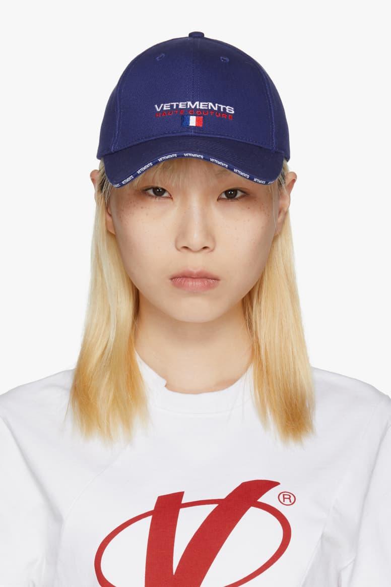 Vetements Logo Baseball Cap Spring/Summer