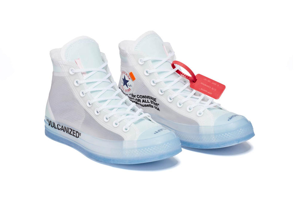 Virgil Abloh Converse Chuck 70 The Ten Pair