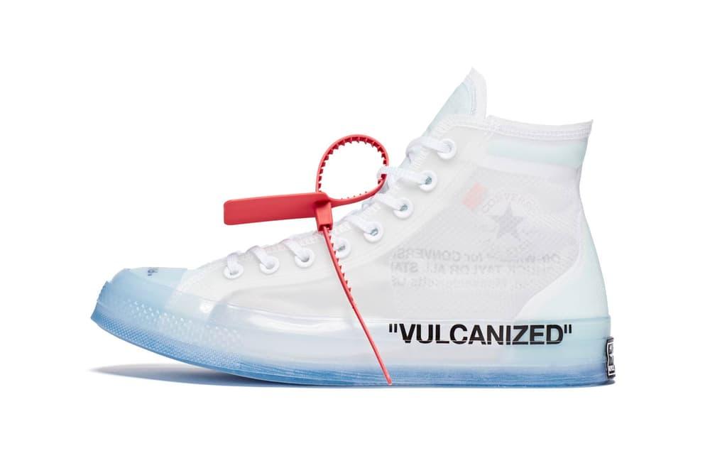 Virgil Abloh Converse Chuck 70 The Ten VULCANIZED