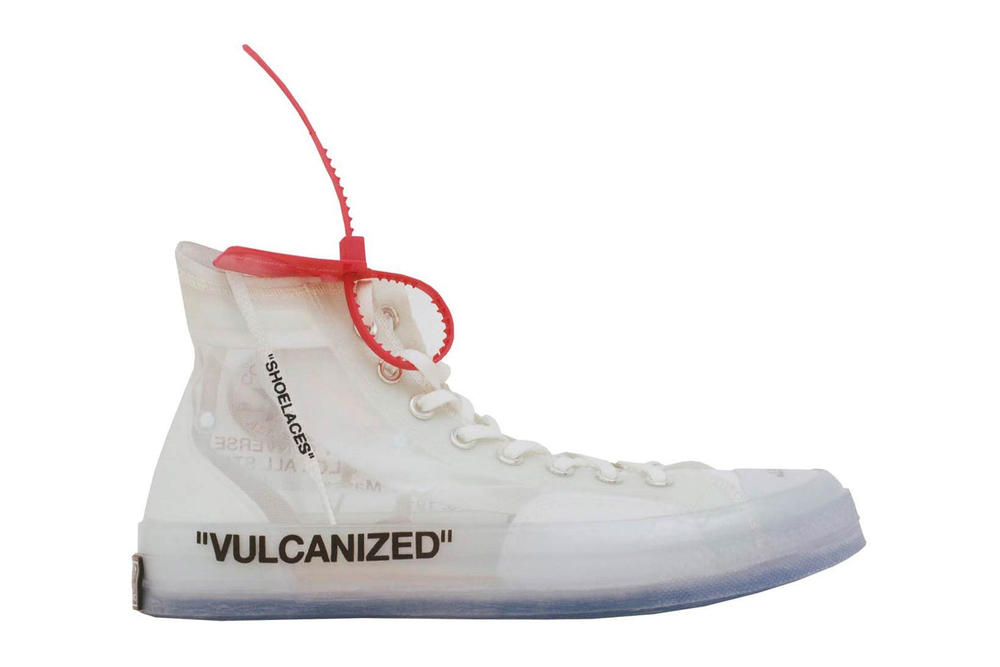 Virgil Abloh Converse Chuck Taylor All Star Release Date