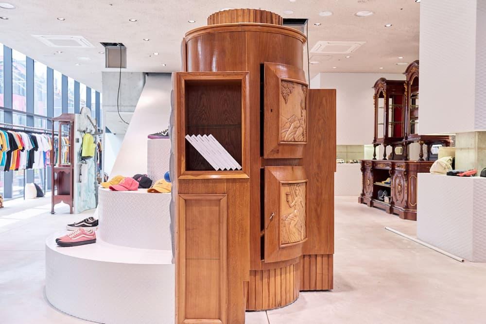 worksout hongdae seoul select shop streetwear collaborations armoire wood