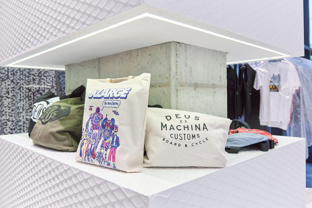 worksout hongdae seoul select shop streetwear collaborations pillows beige off white