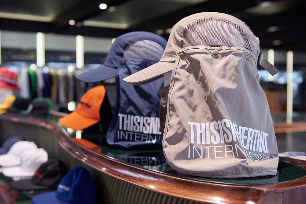 worksout hongdae seoul select shop streetwear collaborations desert hats beige blue navy