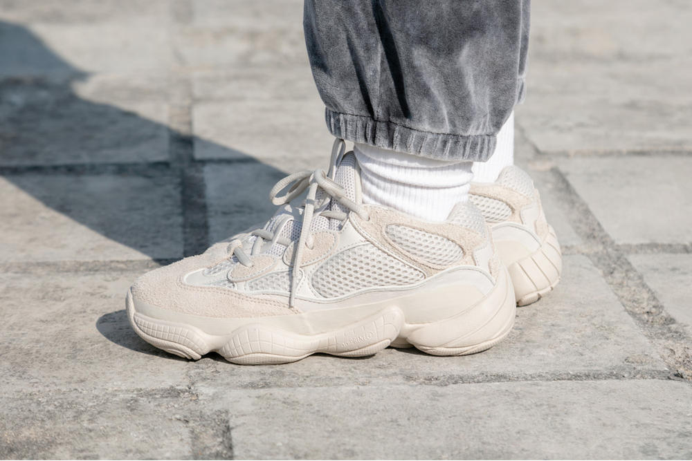 new style 9a0b8 208cc Where to buy YEEZY Desert Rat 500 Blush | HYPEBAE
