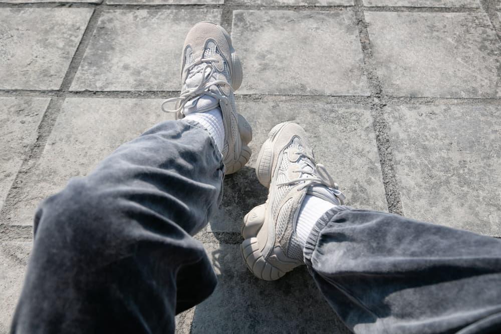 YEEZY Desert Rat 500 Blush raffle enter where to buy hbx mens women's unisex kanye west adidas originals chunky sneaker