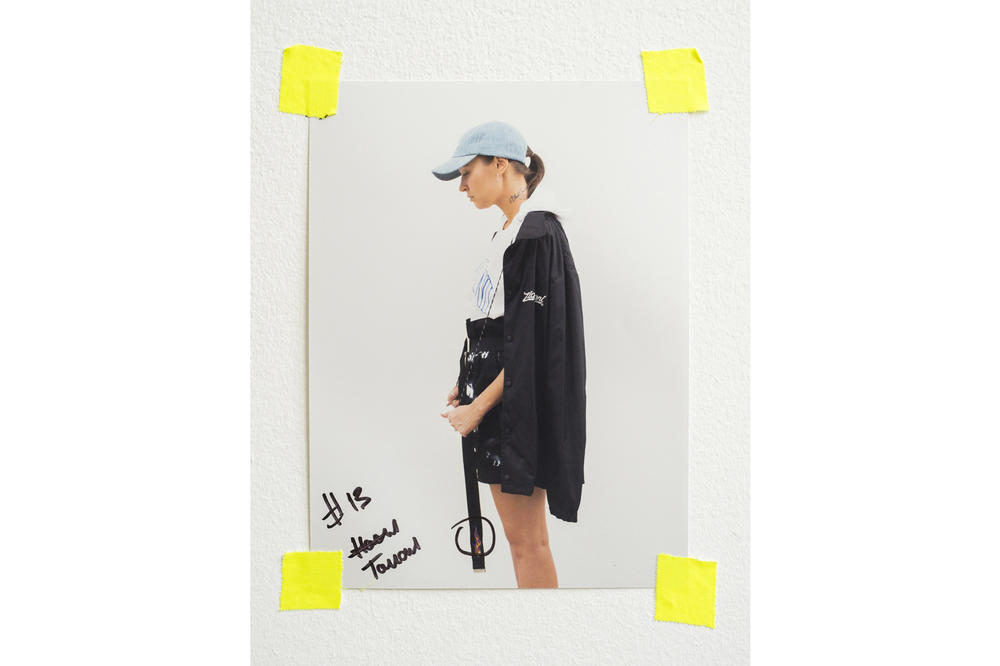 ZIQ&YONI Spring/Summer 2018 Lookbook Windbreaker Jacket Hat Black Blue