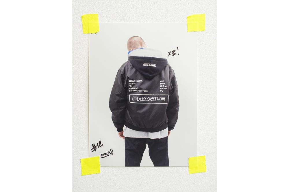 ZIQ&YONI Spring/Summer 2018 Lookbook Windbreaker Jacket Black