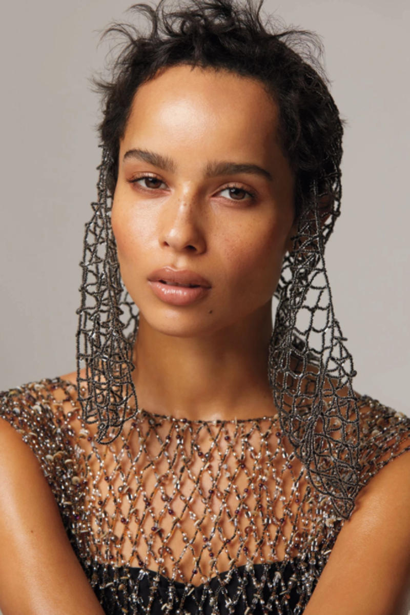 Zoe Kravitz InStyle Magazine Cover Interview Feature Fashion Dior Chanel Maison Margiela