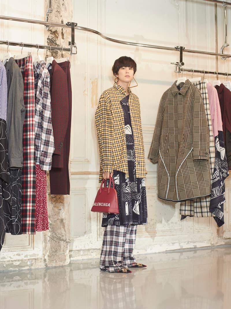 Balenciaga Fall 2018 Lookbook