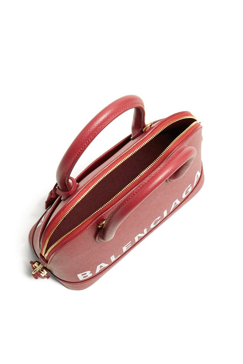 Balenciaga Ville S Burgundy Handbag Accessory
