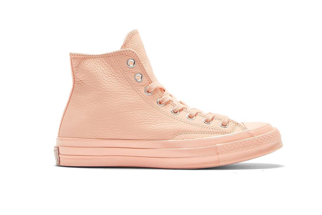 converse peach pink