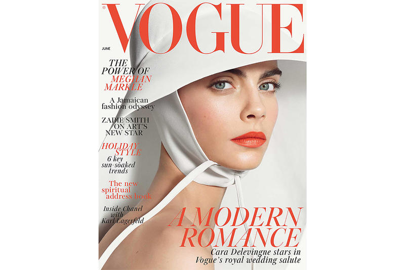 Cara Delevingne British Vogue June 2018 Issue Royal Wedding