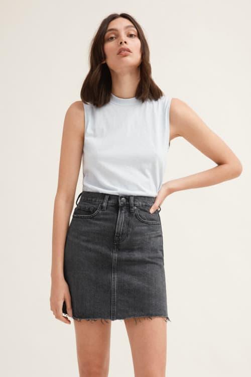 Everlane Denim Short and Skirt