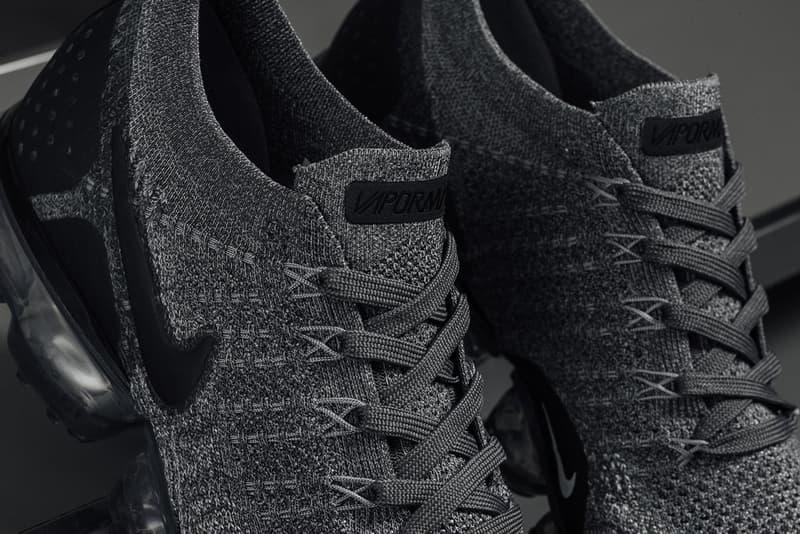 "Nike Air VaporMax Flyknit 2.0 ""Dark Grey/Black"" Sneaker Crisp Raffle Where to Buy"