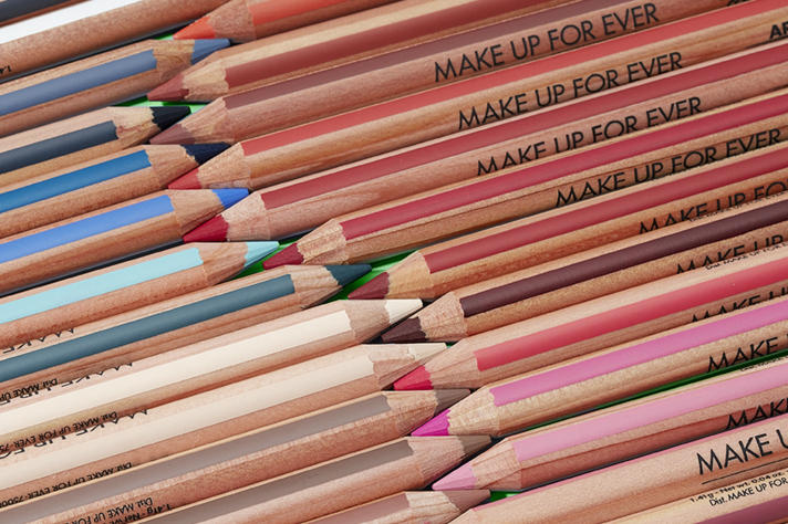 Make Up For Ever Hetrick-Martin Institute Campaign Artist Color Pencils