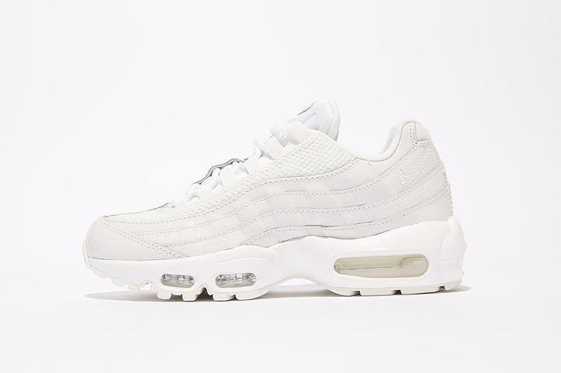 Nike Air Max 95 Premium White Sneaker Summer Ready 2ecd3fba6