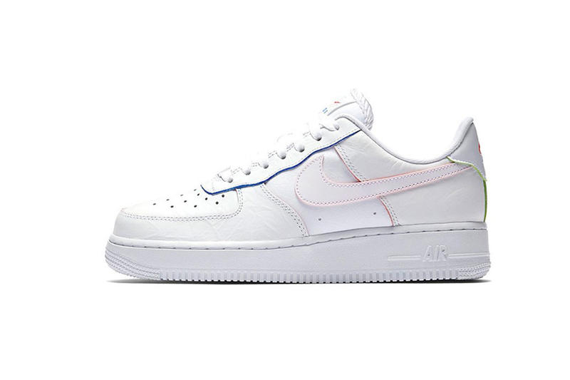 Nike Air Force 1 Low White Multi-Color Detailing