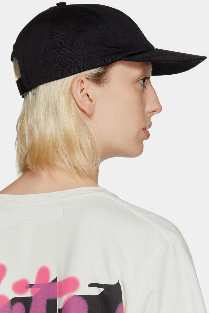 Off-White™ Black Quote Cap Summer Piece