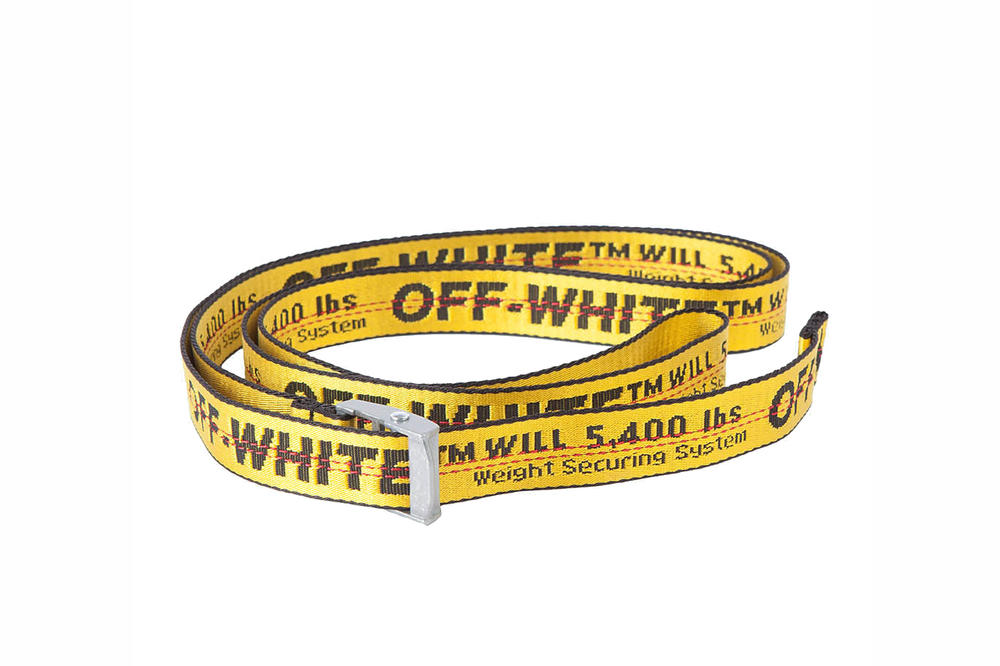Off-White™ Yellow Mini Unisex Industrial Belt