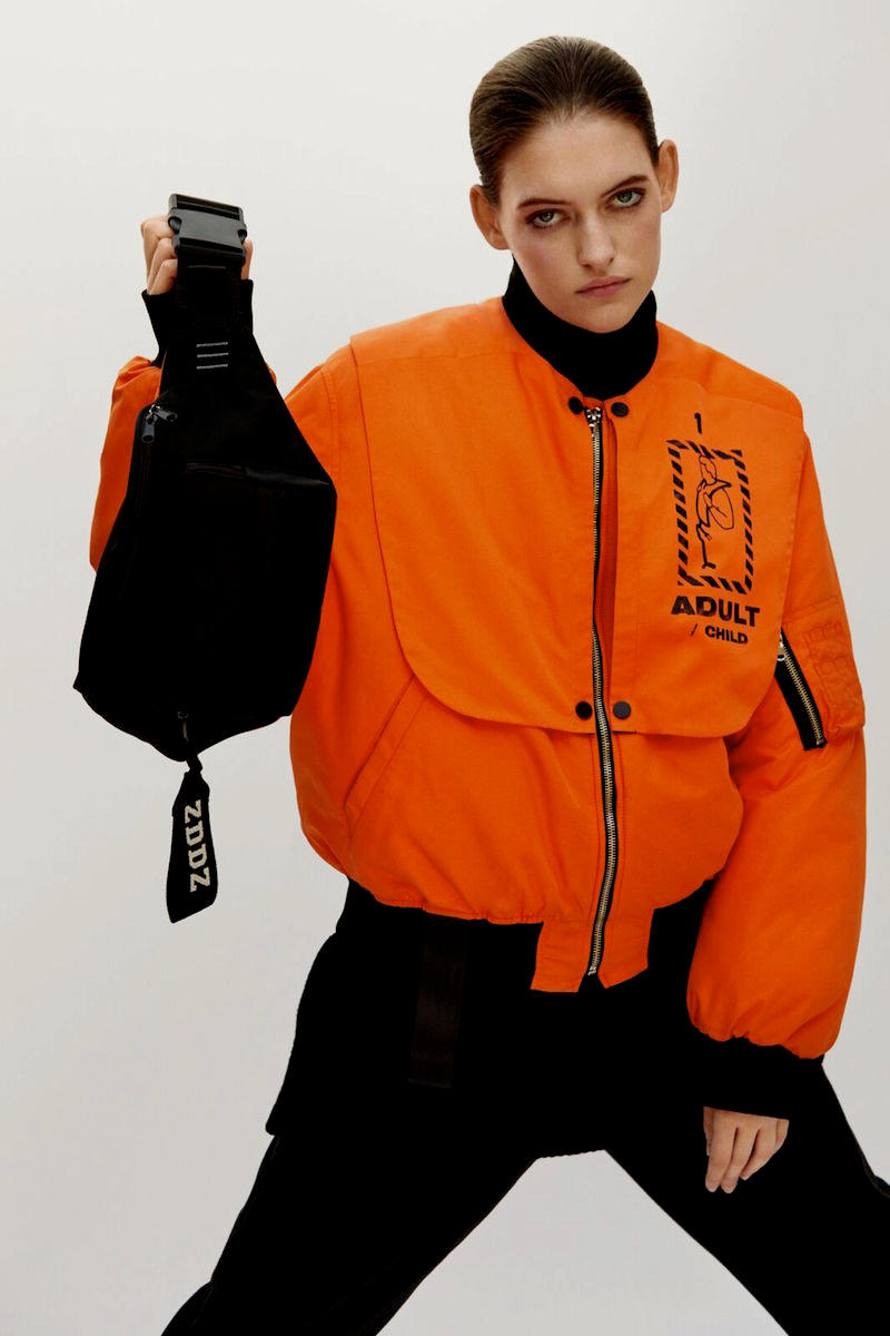 ZDDZ Fall Winter 2018 FW 18 Collection Inflatable Vest Bomber Jackets Tees Streetwear Capsule Range