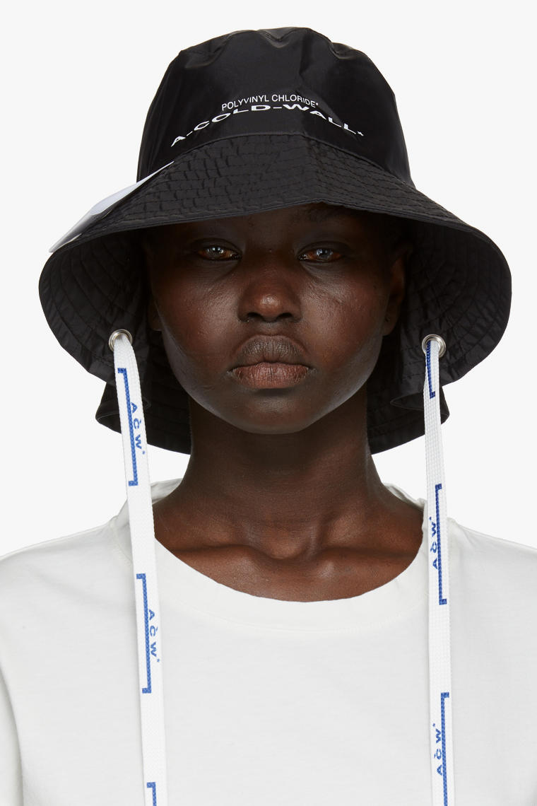 Shop New Accessories from A-COLD-WALL* Hats Bucket Hat Cap Hood Samuel Ross