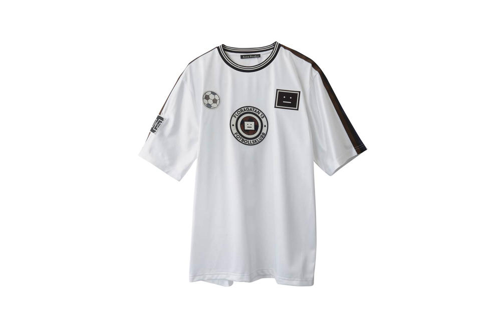 Acne Studios Fotbollsklubb Football T-Shirt White