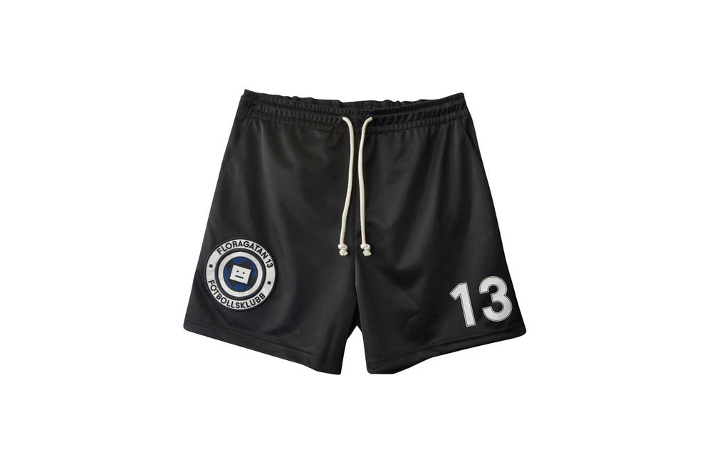 Acne Studios Fotbollsklubb Football Shorts Black