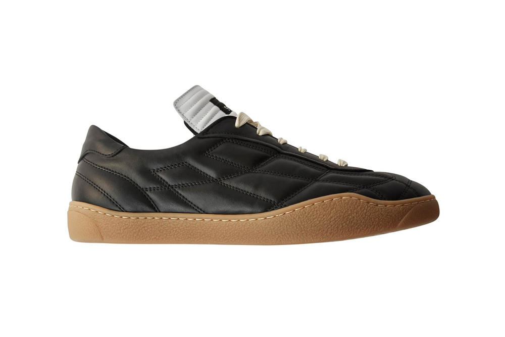 Acne Studios Fotbollsklubb Football Leather Sneakers Black