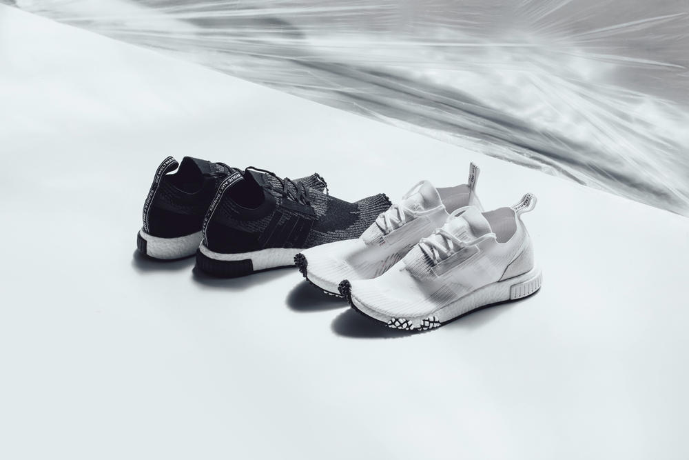 "adidas NMD Racer ""Monochrome"" Collection Black White Sneaker"