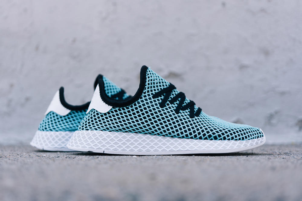 adidas Originals Deerupt Parley Available Now Sustainable Sneaker Ocean Plastic Material Shoe