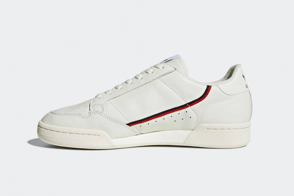 adidas rascal continental og sneaker white cream leather