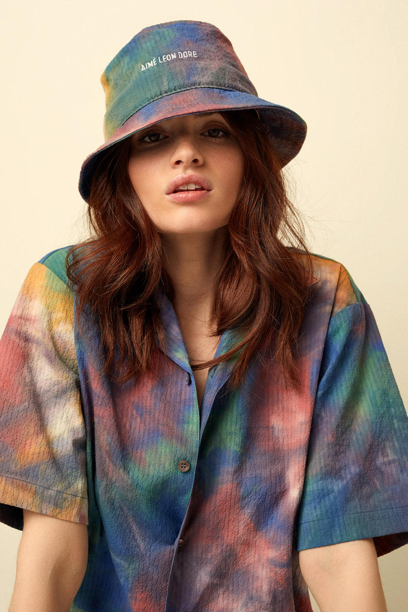 Aimé Leon Dore Spring/Summer 2018 Collection Editorial Leisure Shirt Bucket Hat Multi Color