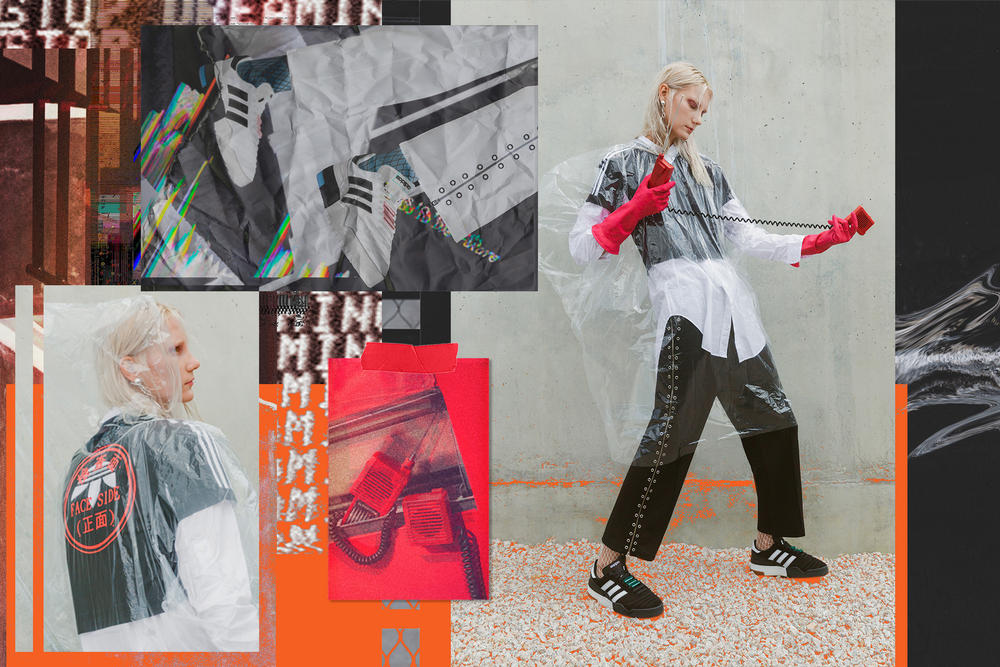Alexander Wang x adidas Originals Season 3 Editorial Streetwear Collection Athleisure Concept