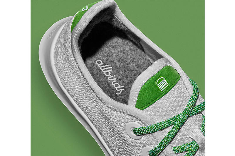 Shake Shack x Allbirds Burger Sneaker Green White