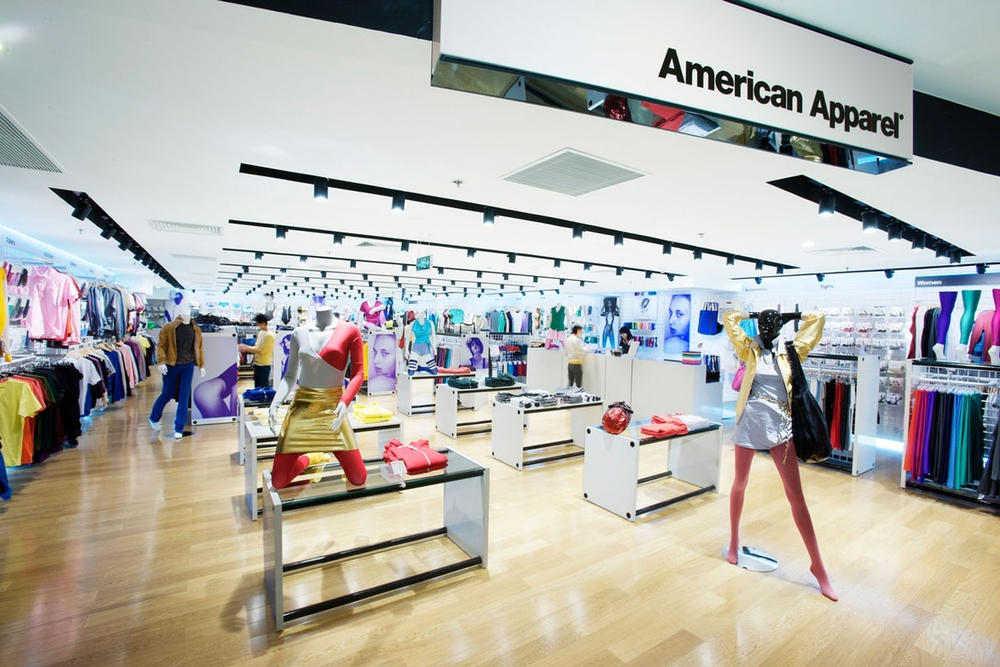American Apparel Store Layout