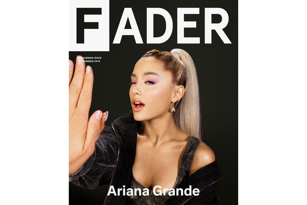 Read Ariana Grande's Interview with FADER Magazine Cover Music Album Pharrell Williams