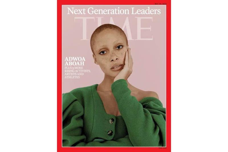 Adwoa Aboah TIME Magazine Next Generation Leaders 2018
