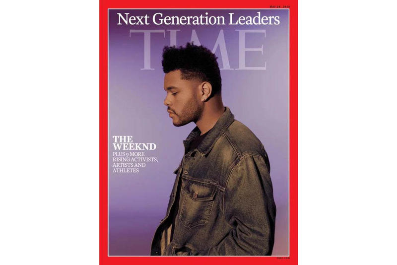 The Weeknd TIME Magazine Next Generation Leaders 2018