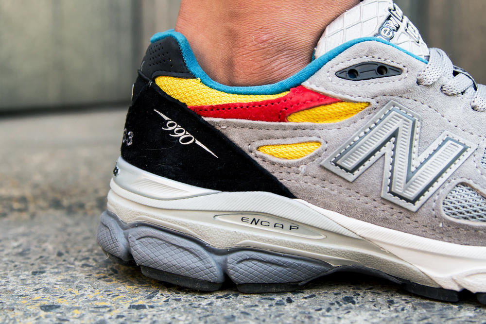 Aries x New Balance 990v3 Retro Dad Sneaker Collaboration 2018