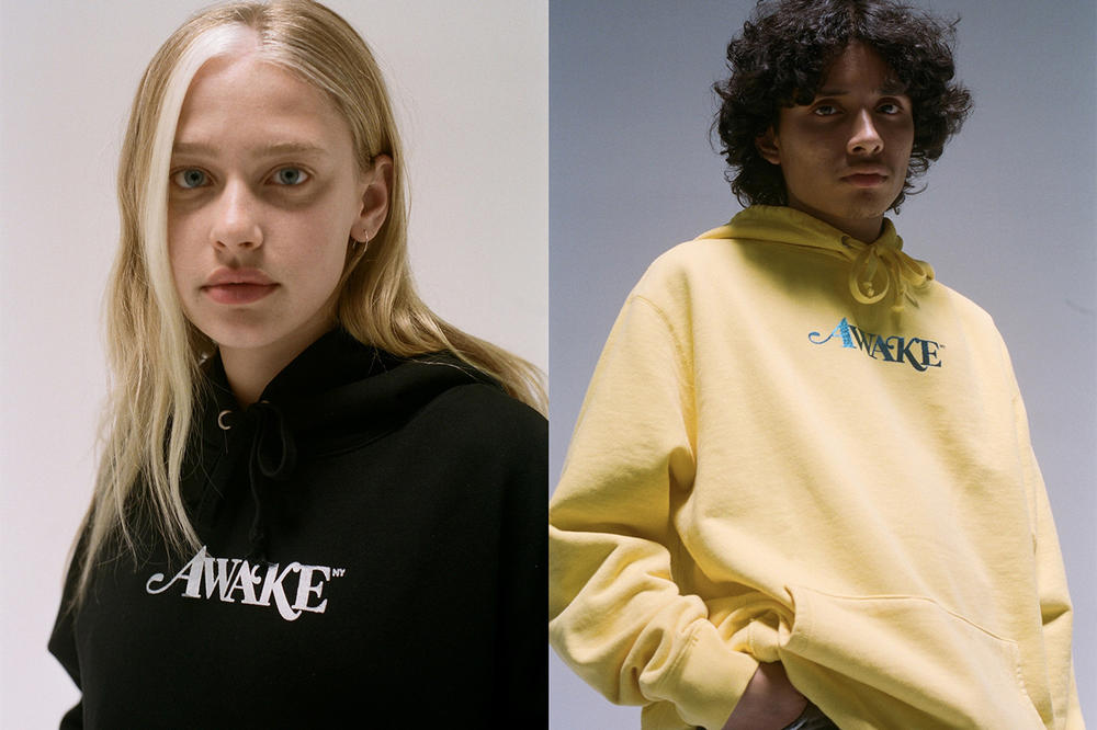 Awake NY Spring/Summer 2018 Collection Lookbook Hoodies Black Yellow