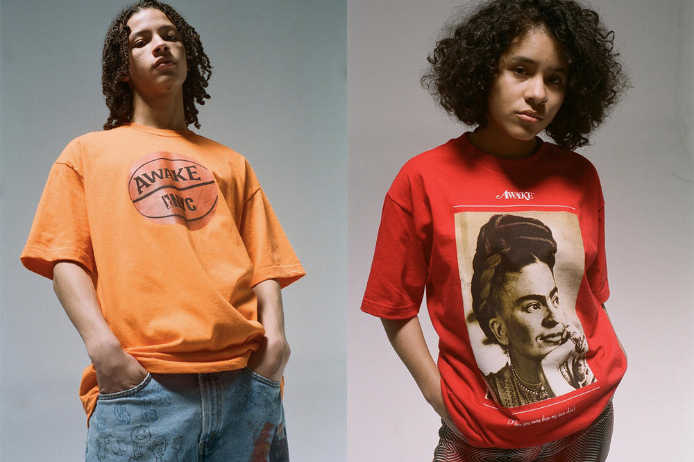 Awake NY Spring/Summer 2018 Collection Lookbook T-Shirts Orange Red
