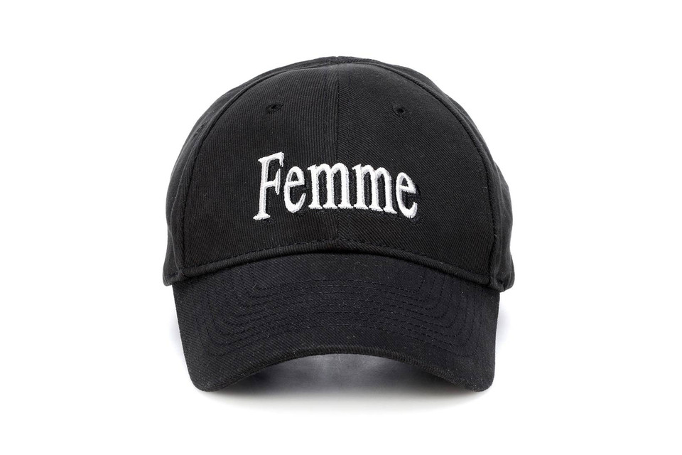 Balenciaga Femme Baseball Cap and Dad Hat Black  c3ac0231ed0