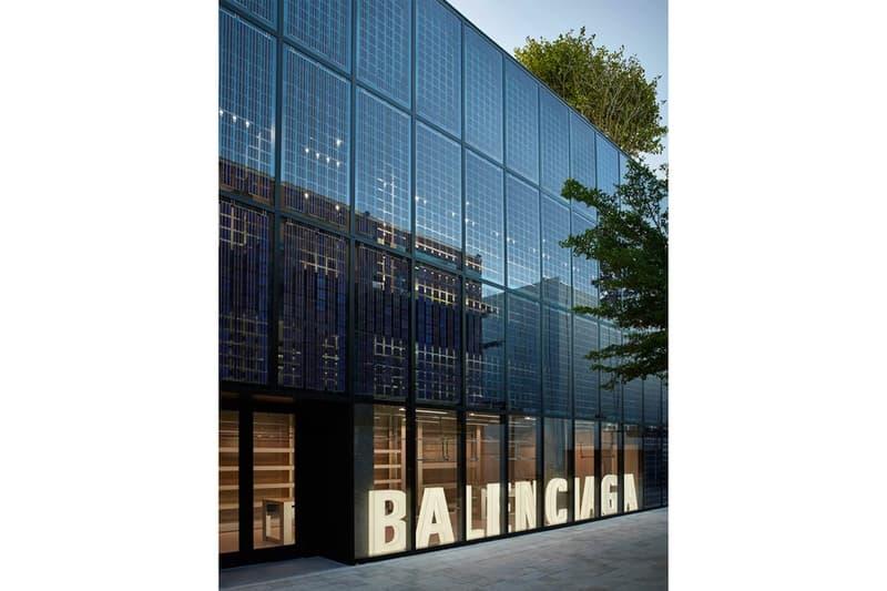 Balenciaga New Store Miami Design District Solar Panels
