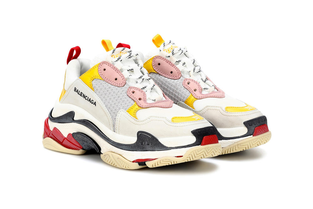 balenciaga triple-s womens exclusive mytheresa.com restock chunky sneakers