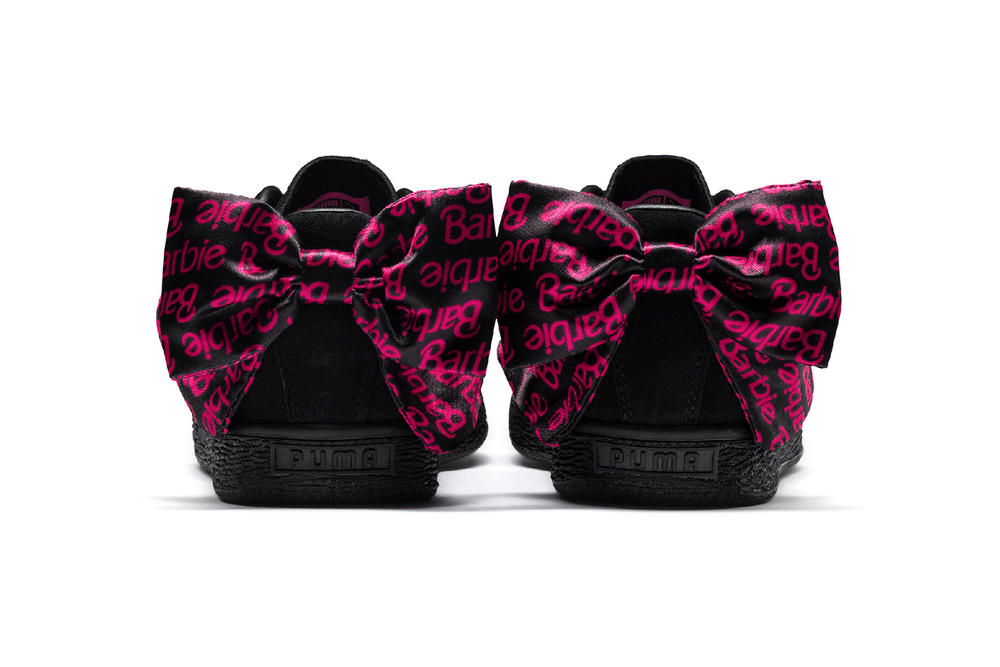 Barbie x PUMA Suede Bow Black Pink