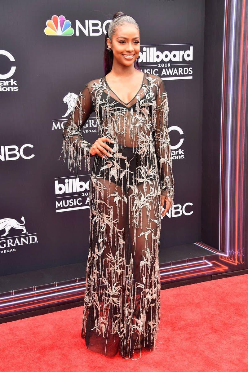 Justine Skye Billboard Music Awards 2018 Red Carpet