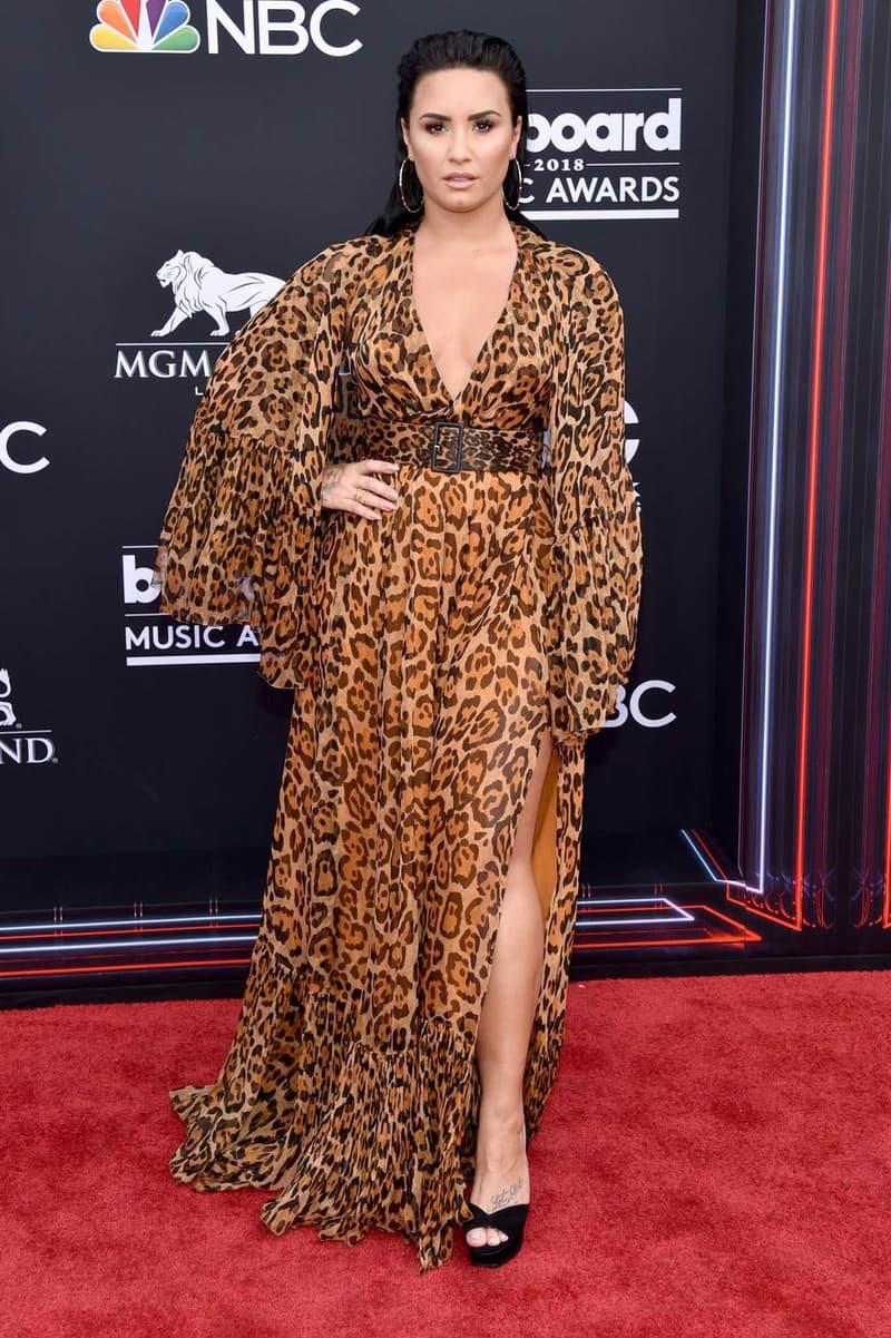 Billboard Music Awards 2018 Red Carpet Demi Lovato